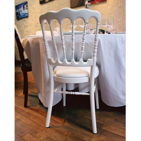 location de chaise napol on blanche paris 75. Black Bedroom Furniture Sets. Home Design Ideas