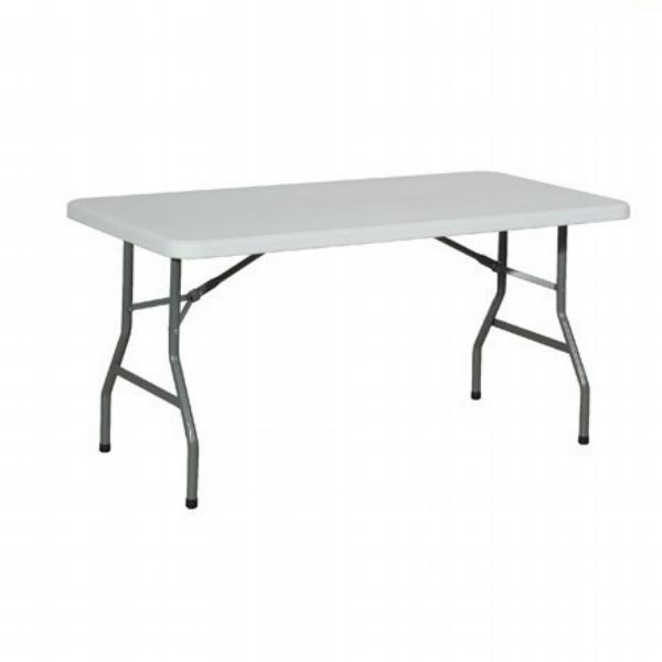 Location - Table rectangulaire 150cm