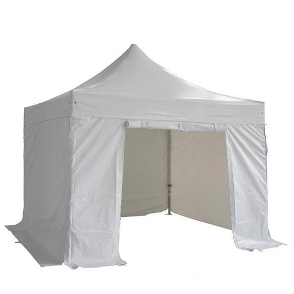 location de tente pliante 4x4m pour soir e priv e en ile de france. Black Bedroom Furniture Sets. Home Design Ideas